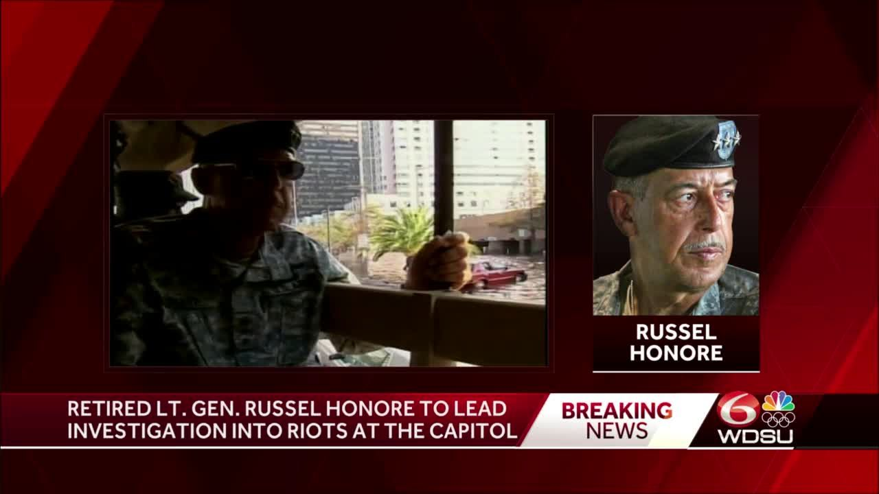 Pelosi taps post-Katrina commander Russell Honoré to investigate Capitol security