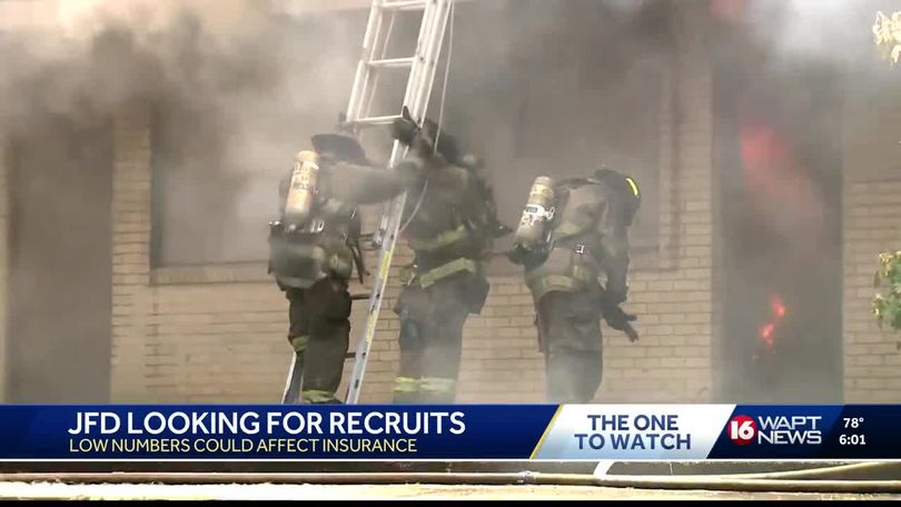 JFD hiring firefighters