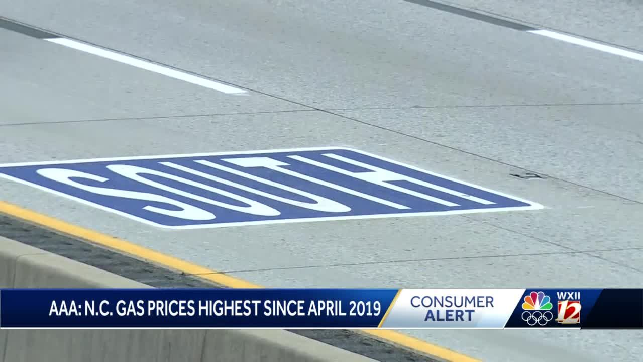 North Carolina gas prices continue to rise