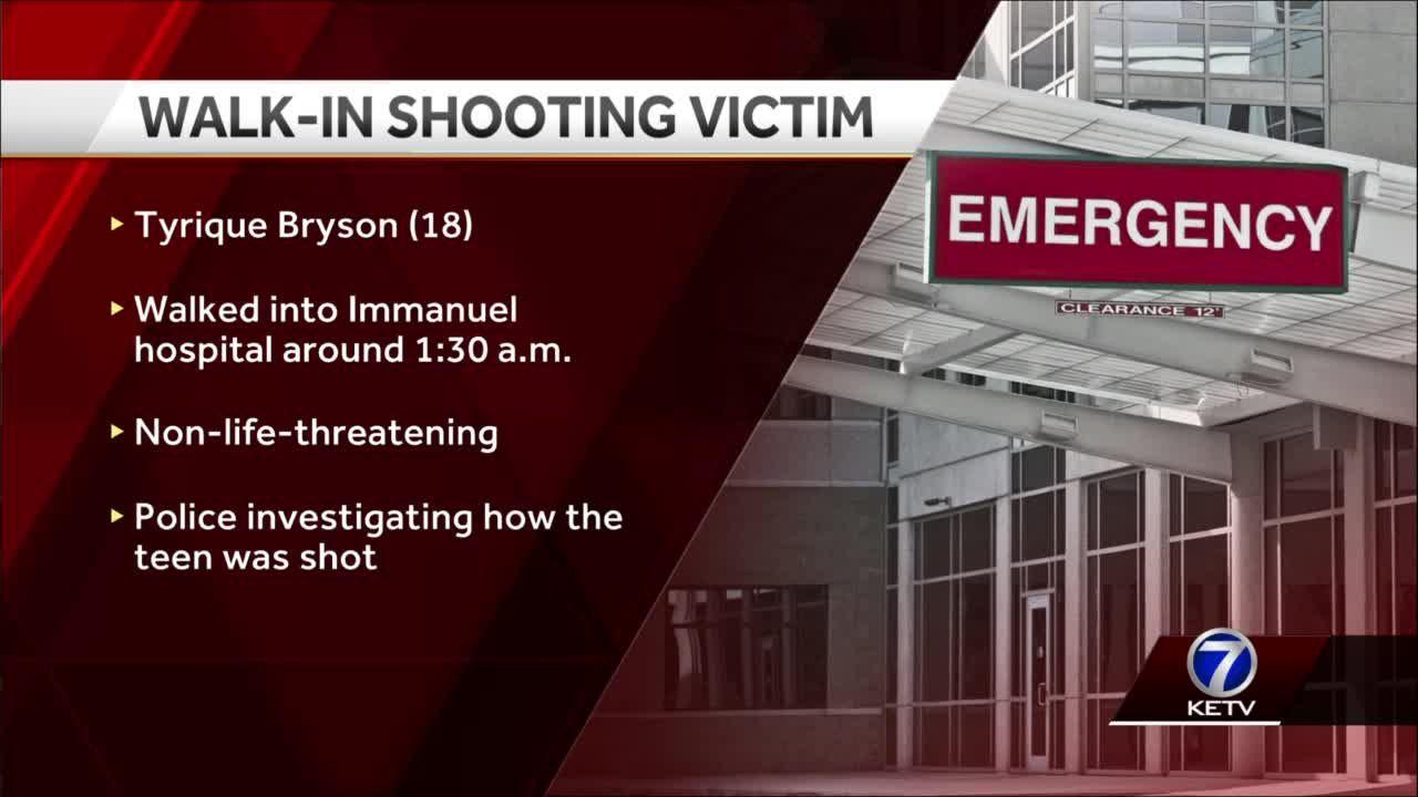 Walk-in Shooting Victim NAME