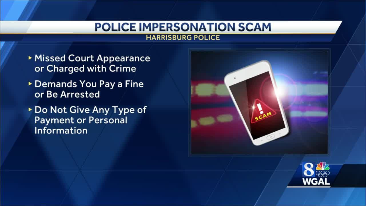 Harrisburg police warn about phone scam with caller pretending to be law enforcement