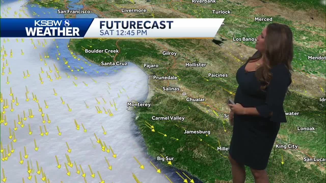 Warming trend this weekend