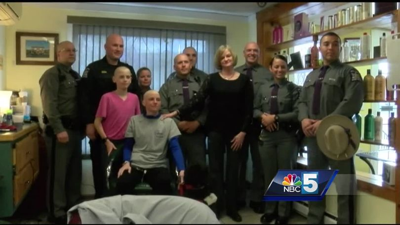 NY State Police surprise trooper's family before major surgery