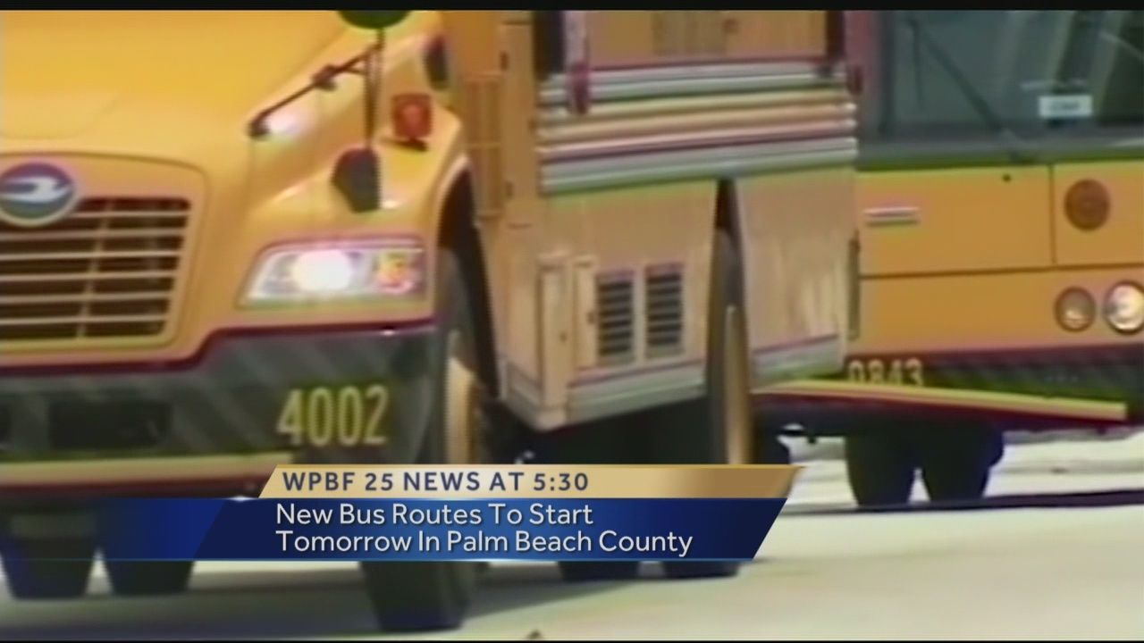 new school bus routes in palm beach county