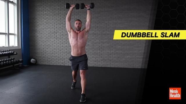 This 4-Move Dumbbell Workout Will Spark Your Metabolism