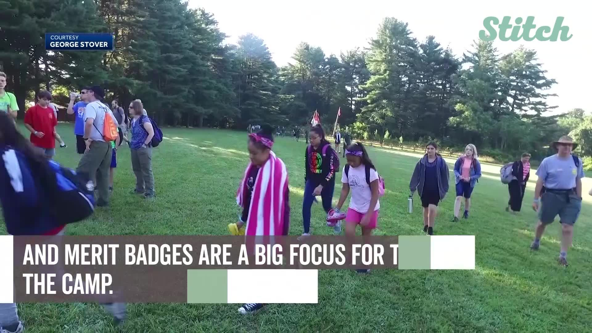 Newly integrated co-ed summer camp for scouts proves a success
