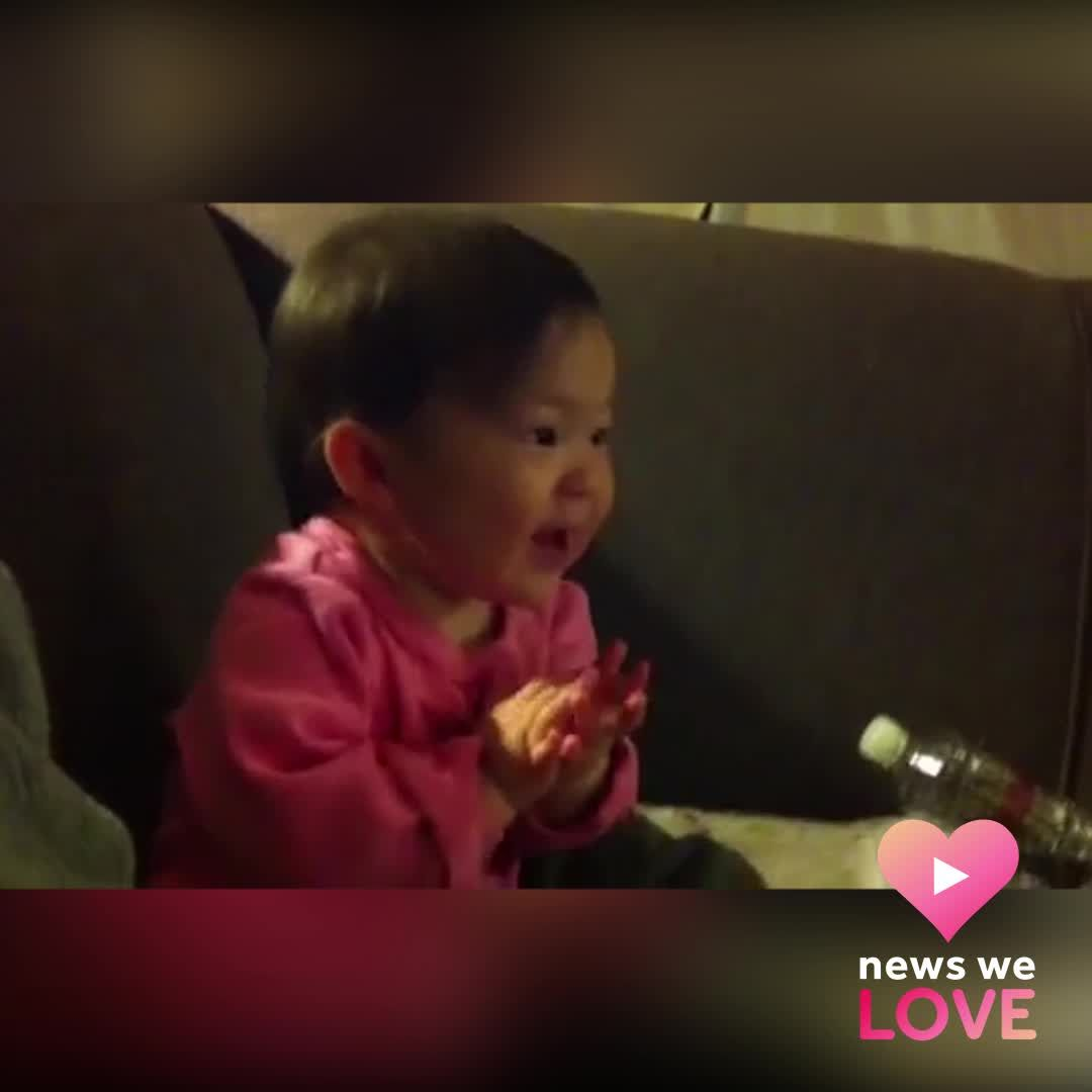 Baby LOVES Friday Night Lights theme song