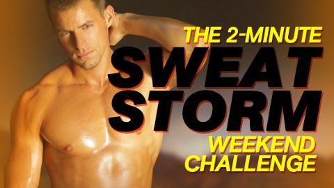 The 2-Minute Sweat Storm