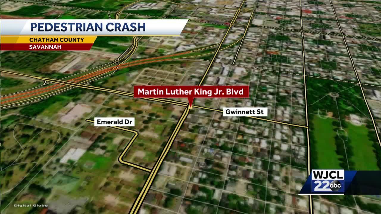 Savannah police investigating pedestrian-involved crash on Martin Luther King Jr. Boulevard