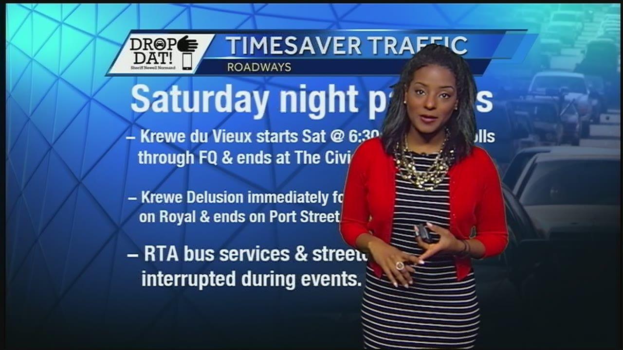 Traffic Alert: Road closures, delays