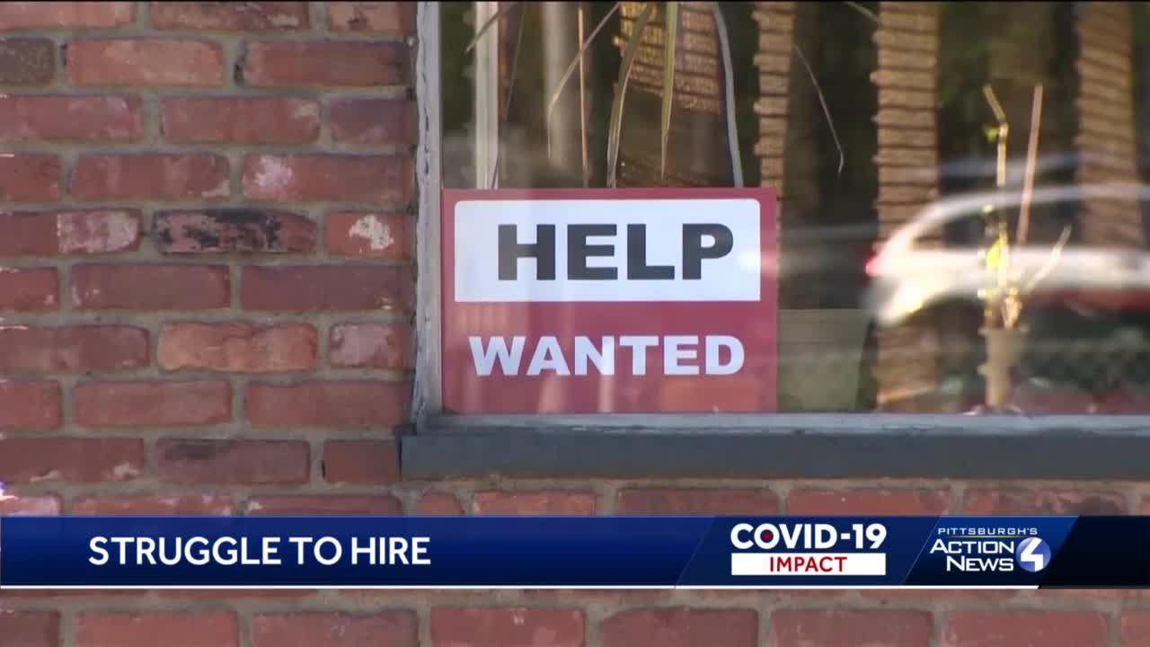 Companies struggle to hire