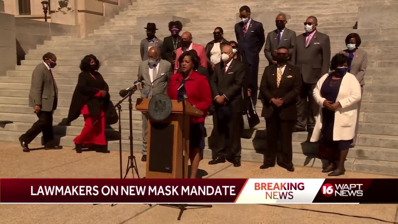 Legislators opposed to lifting mask mandate