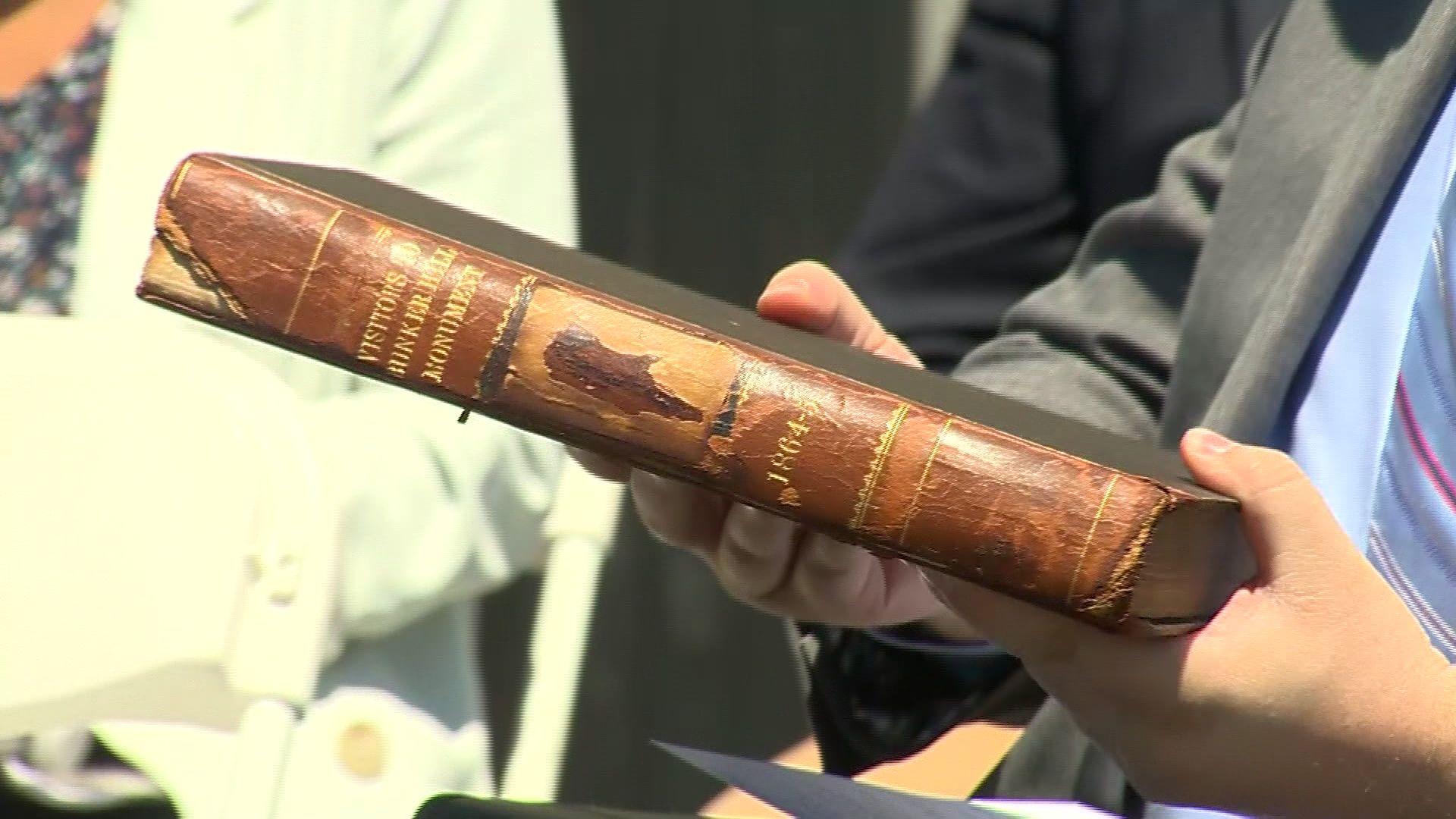 Philanthropist helps return treasured Civil War records to Charlestown monument