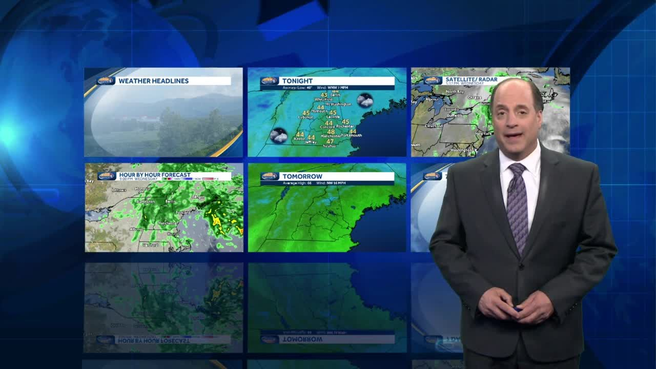 Watch: Sun returns on breezy Thursday