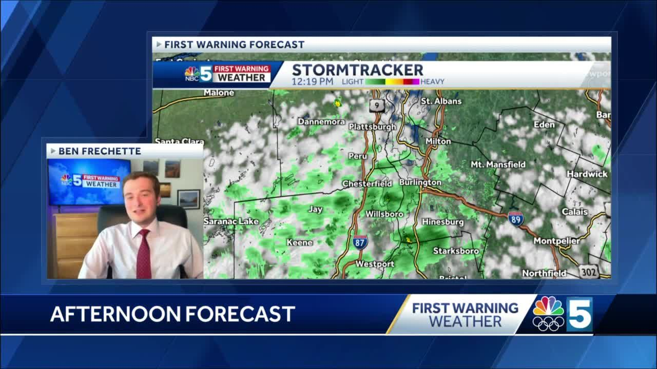 Video: Few clouds and sprinkles today (5-14-21)