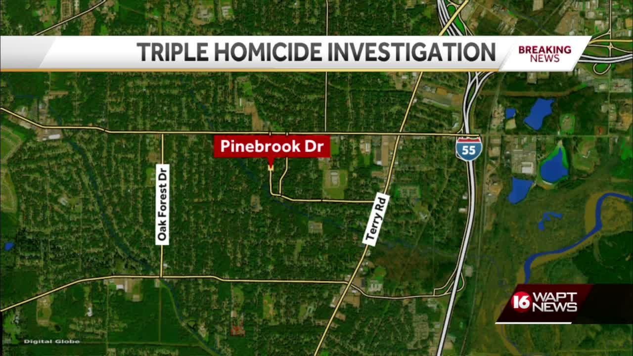 3 killed on Pinebrook Drive