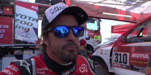 Alonso Dakar Etapa 3