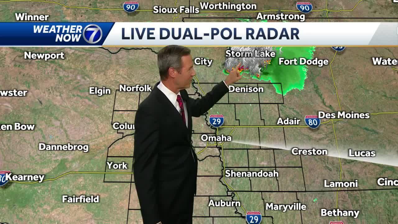 Tracking Iowa storms
