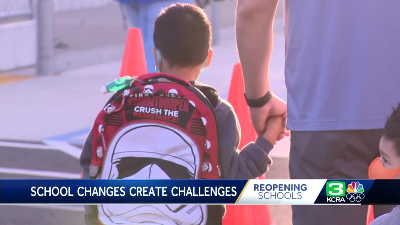 School changes create new challenges for parents adjusting to schedules
