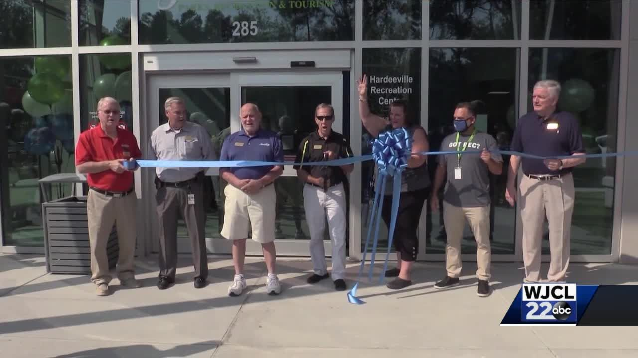 Grand opening held for new Hardeeville Recreation Center