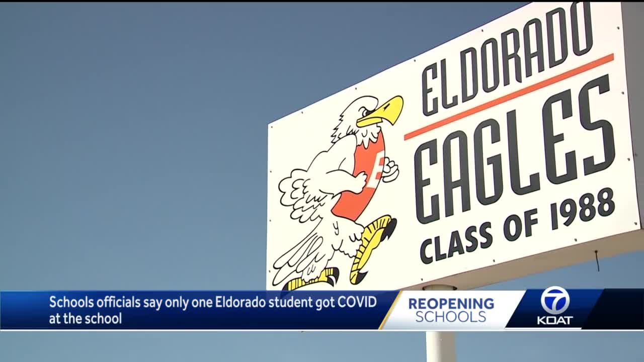 Eldorado is first public school to be closed because of COVID-19