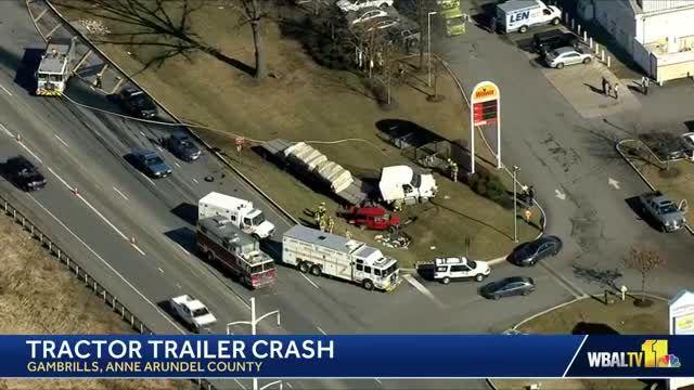 Woman killed in Gambrills crash