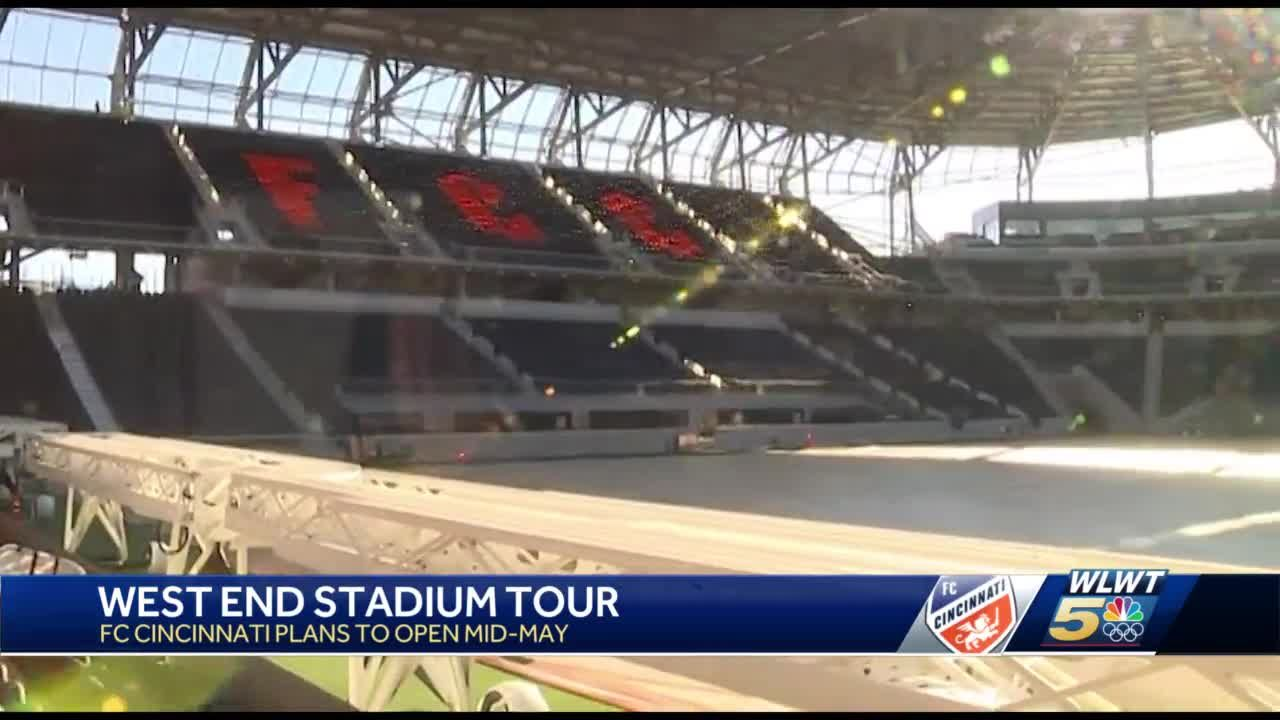 First look: A look inside the near-complete FC Cincinnati stadium