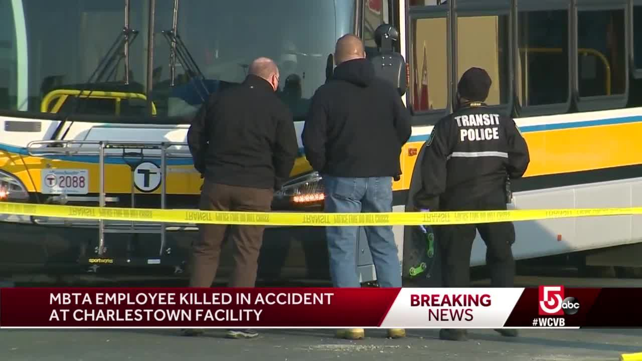 MBTA employee killed in accident at bus yard