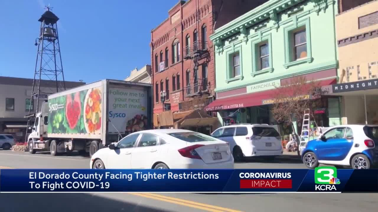 El Dorado County to file appeal, hope not to move into more restrictive COVID-19 tier