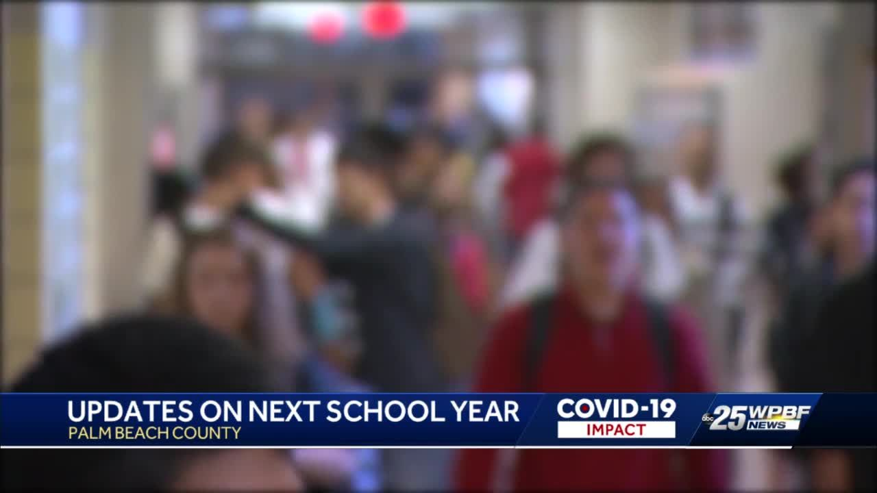 Palm Beach County Board of Education discussing back-to-school changes for next year