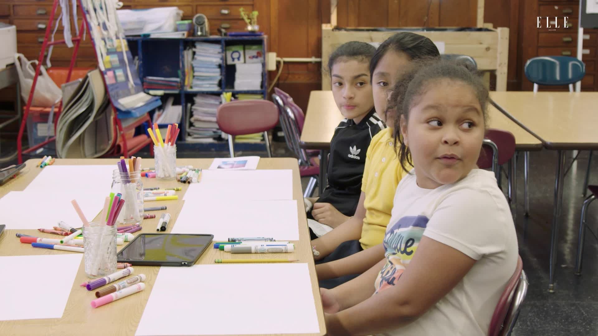 Watch Elementary School Kids Draw the Effects of Climate Change for Earth Day