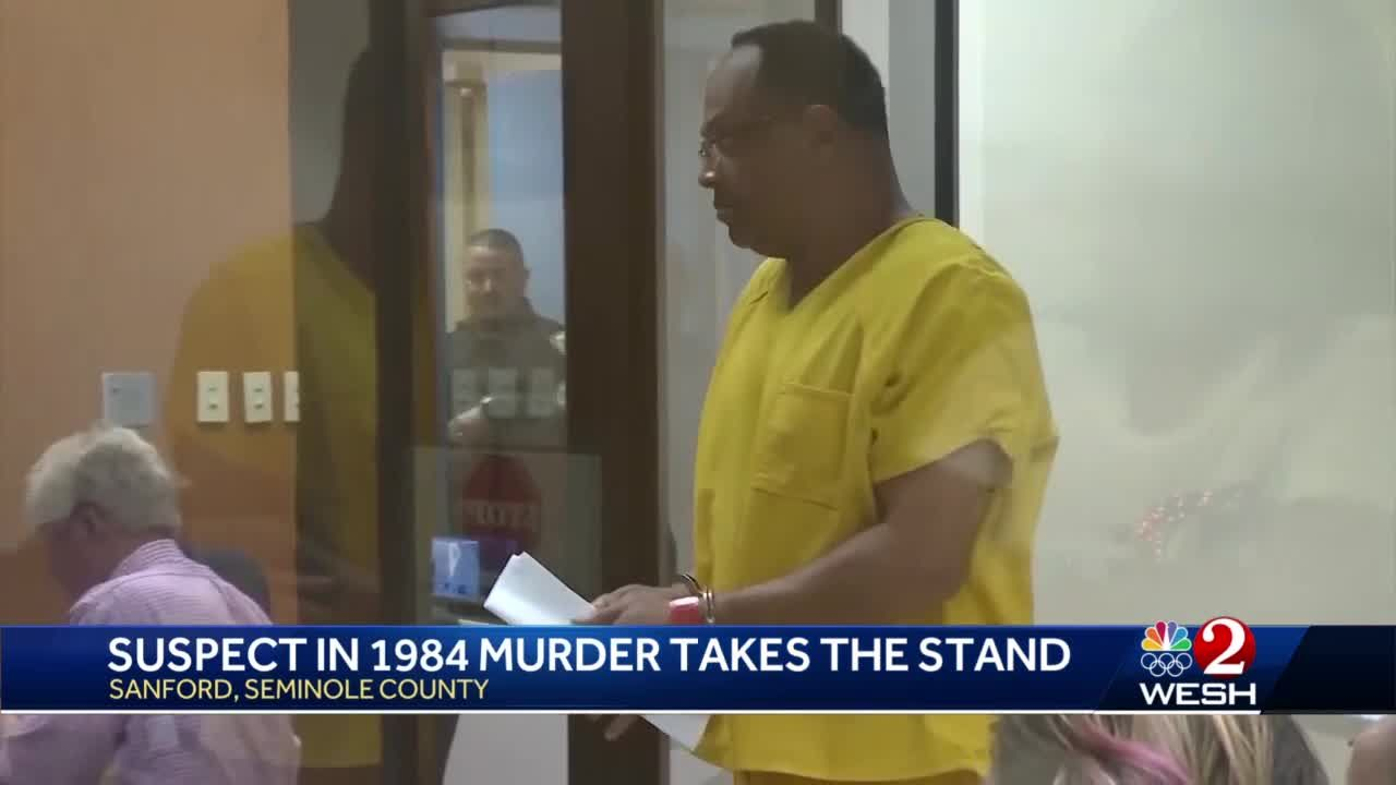 Suspect in 1984 murder takes the stand