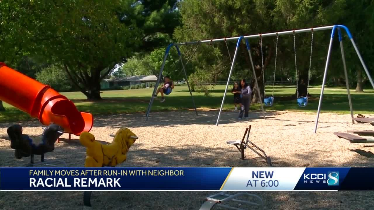 Ames family said they moved after racist incidents with neighbors