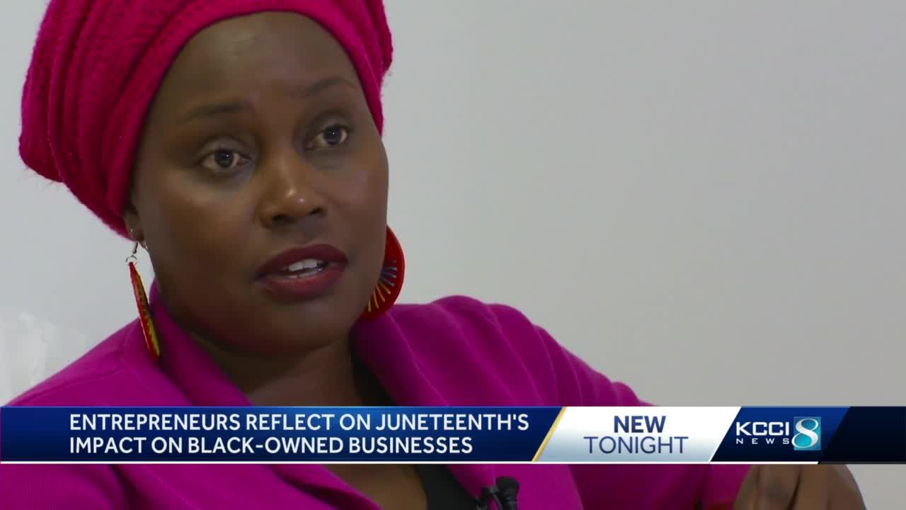 Des Moines entrepreneurs look at the impact of Juneteenth on Black-owned businesses