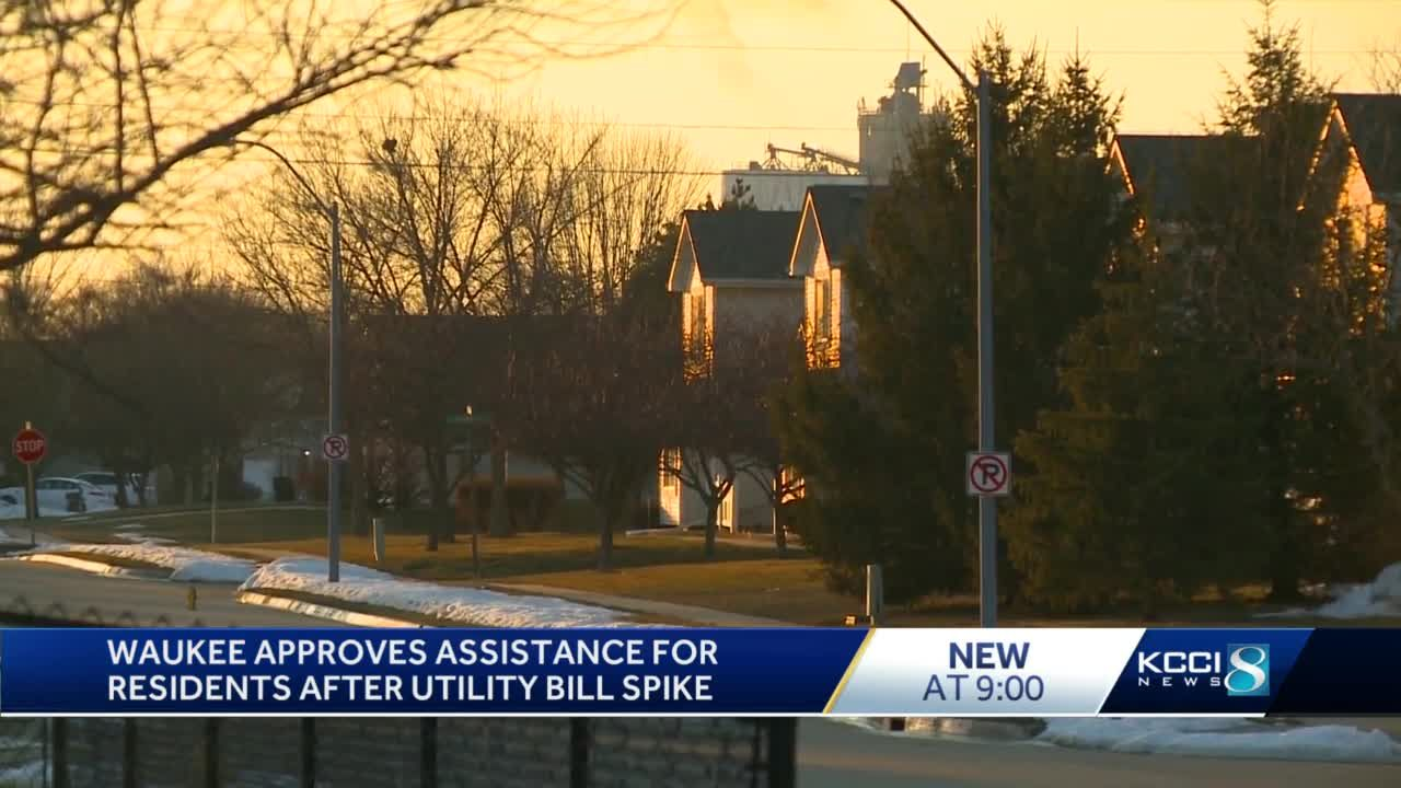 Waukee City Council approves utility bill aid for low-income residents