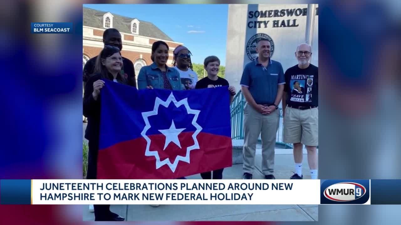 Juneteenth celebrations planned around New Hampshire to mark new federal holiday