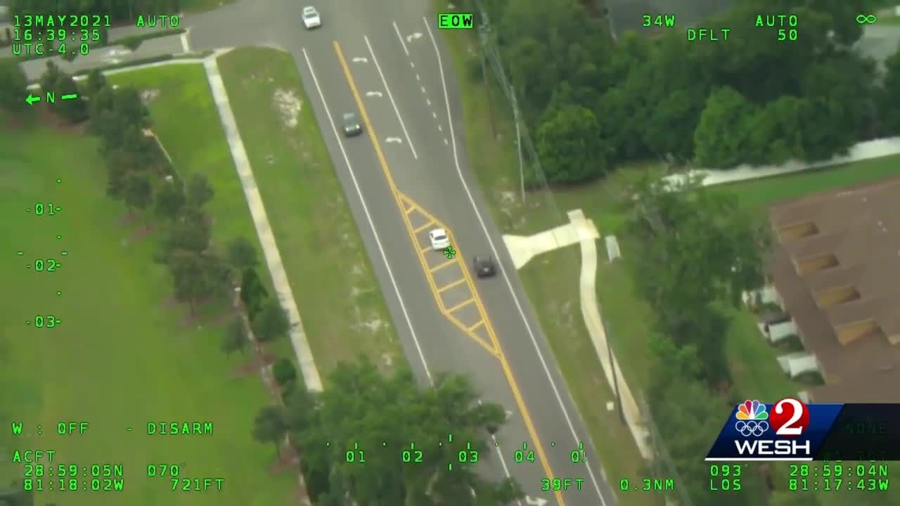 Video shows driver going wrong way on busy intersection in Volusia County, 2 people arrested