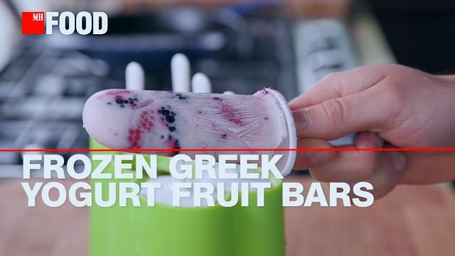 How to Make Your Own Greek Yogurt Popsicles