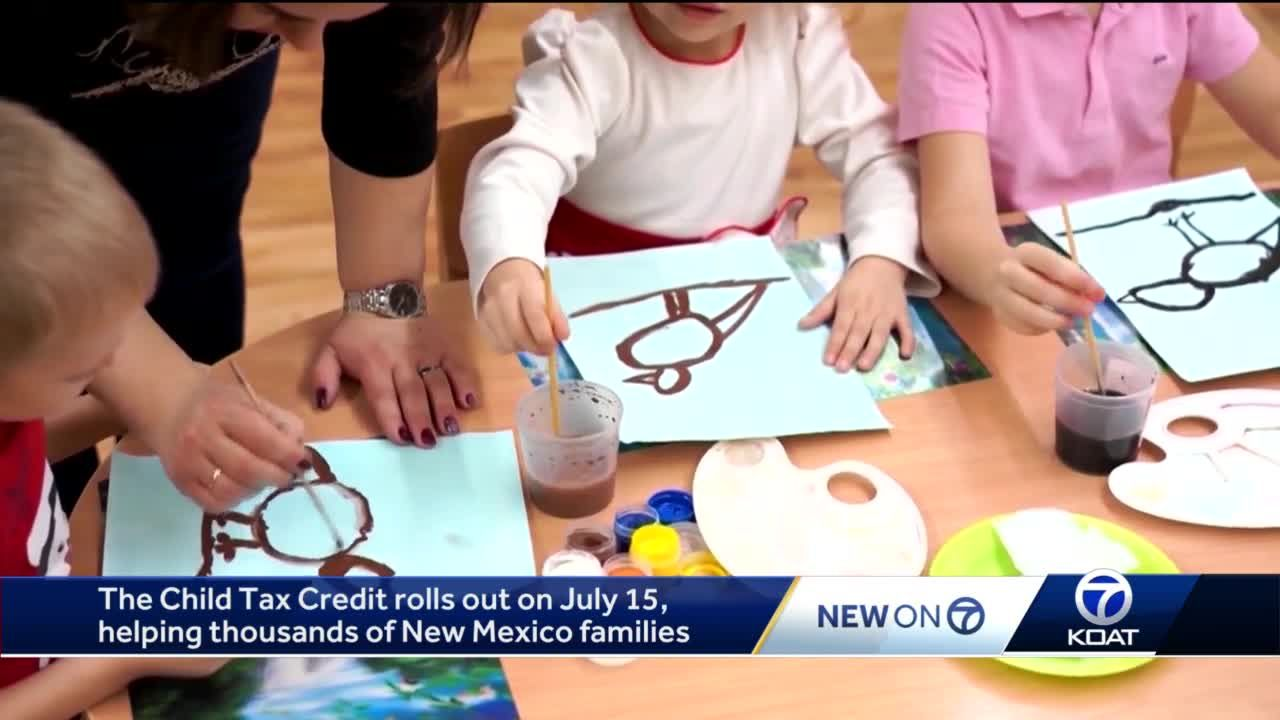 Child Tax Credit rolls out in July