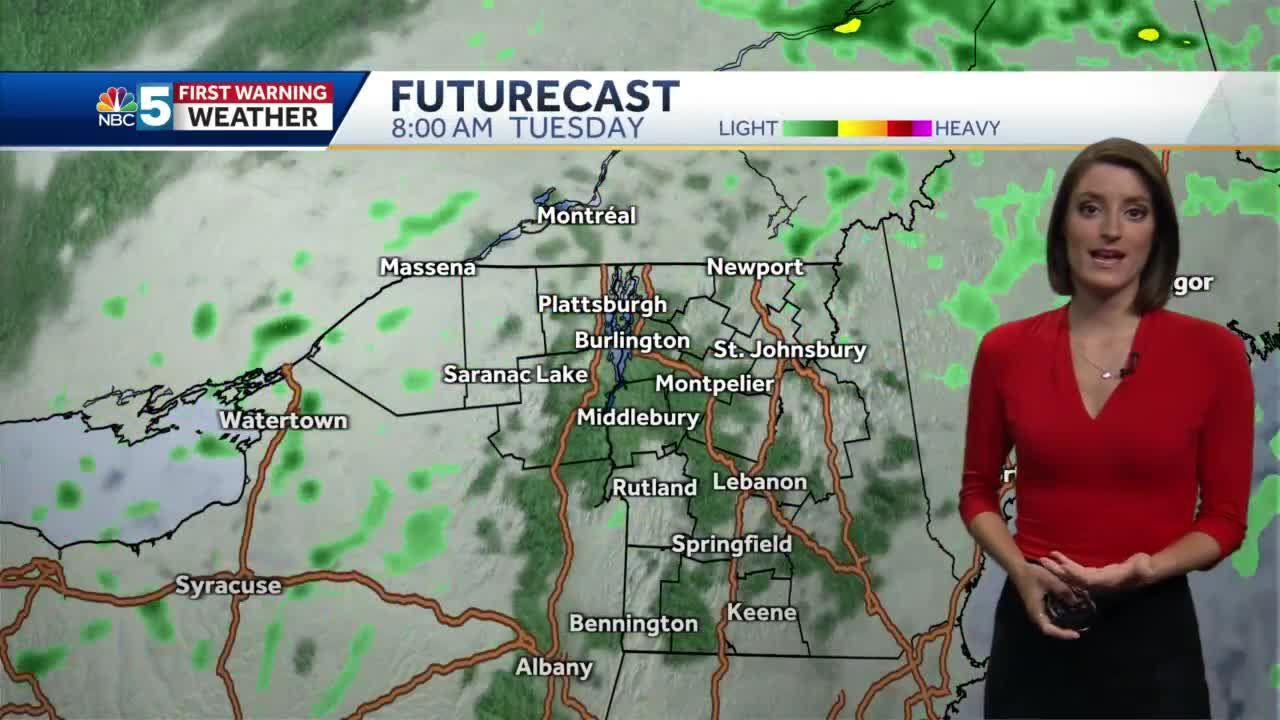Video: Scattered storms today 6/15/21