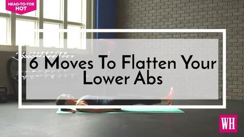 6 Moves to Flatten Your Lower Abs