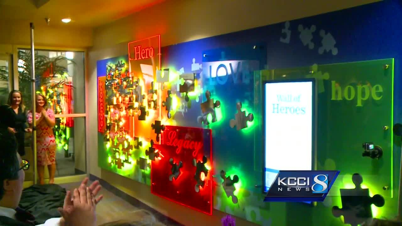 Iowa Methodist Medical Center unveils new Wall of Heroes