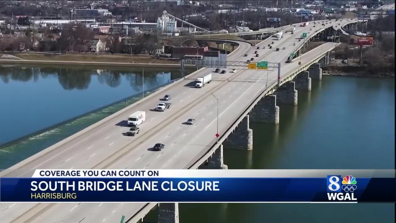 Maintenance work to cause lane restrictions on I-83 South Bridge