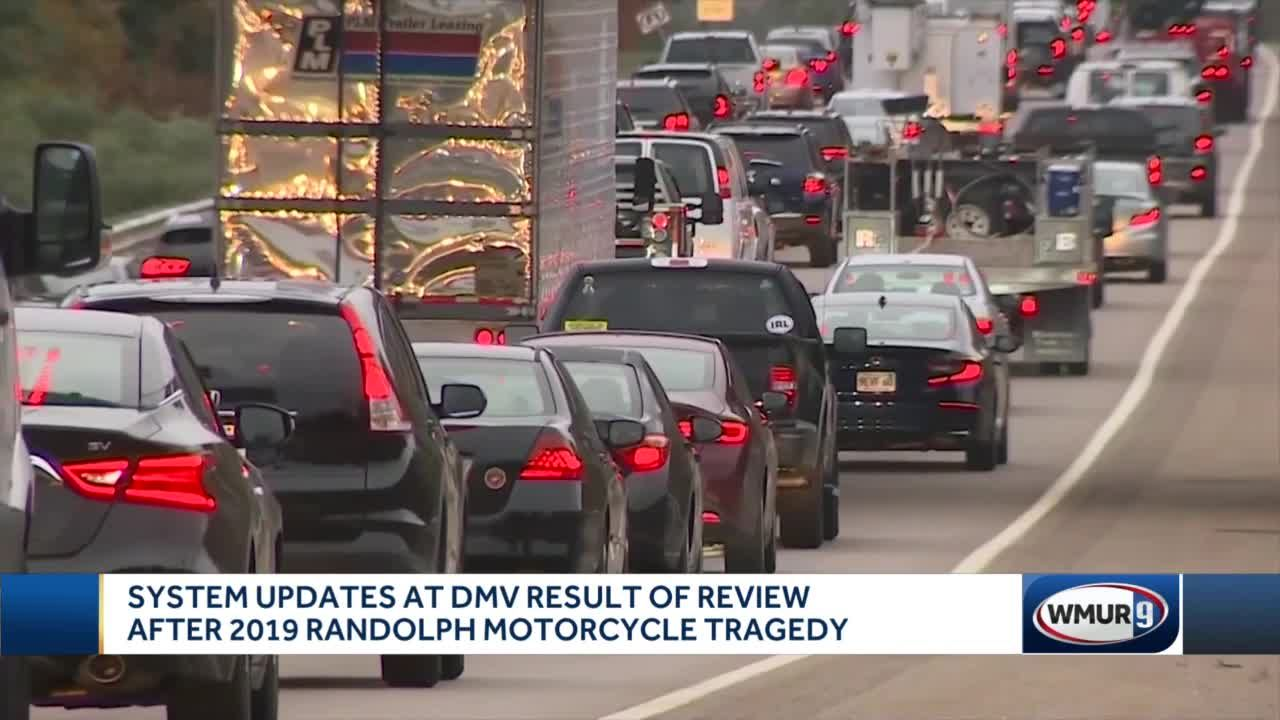 System updates made at DMV after review following Randolph motorcycle tragedy