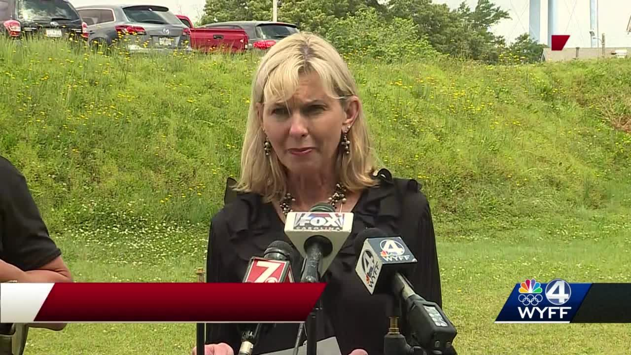 News conference after students shoots himself at Ware Shoals High School