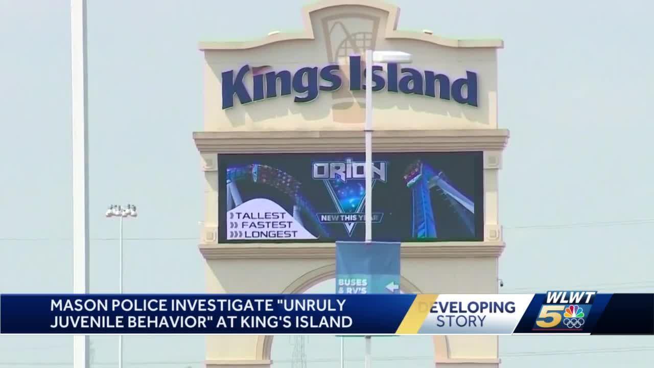 "Mason police investigate ""unruly juvenile behavior at Kings Island"