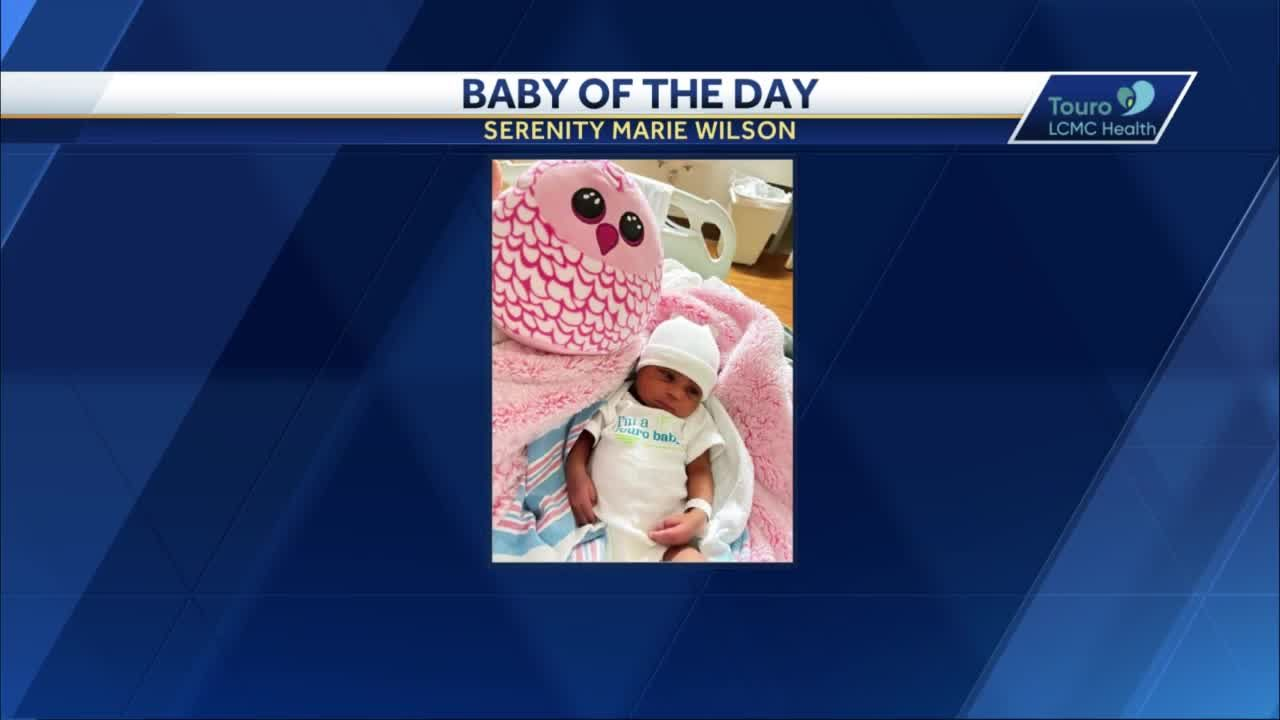 WDSU Baby of the Day for June 21, 2021
