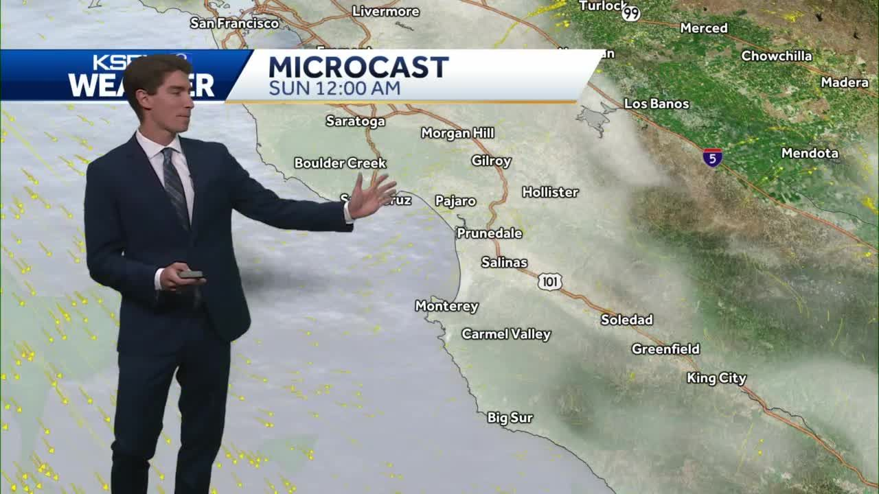 Mostly Cloudy, Cool Conditions Continue Today