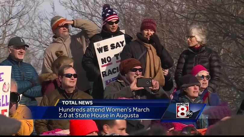 Womens March 20 Draws Hundreds To Augusta