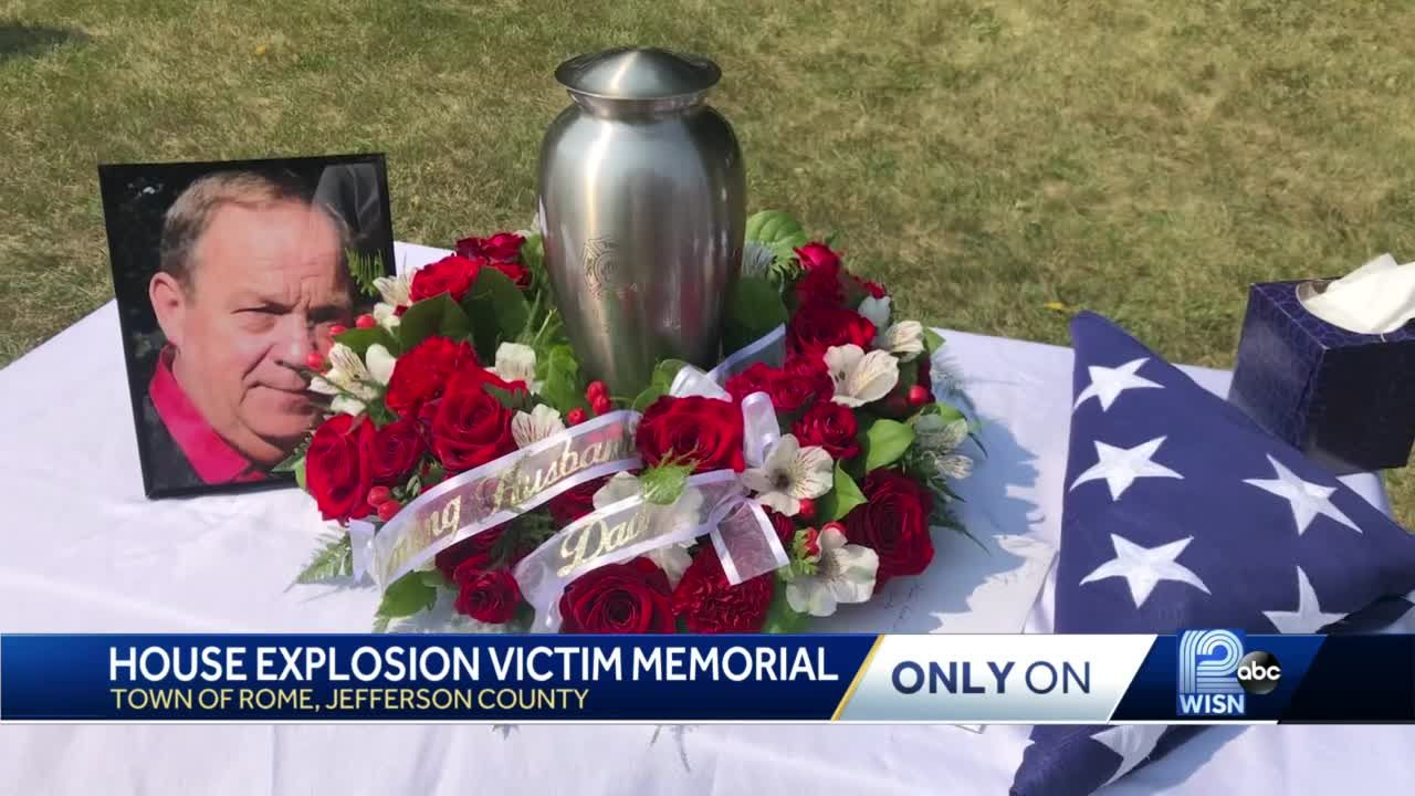 Family and community celebrate the life of former fire chief, killed in home explosion